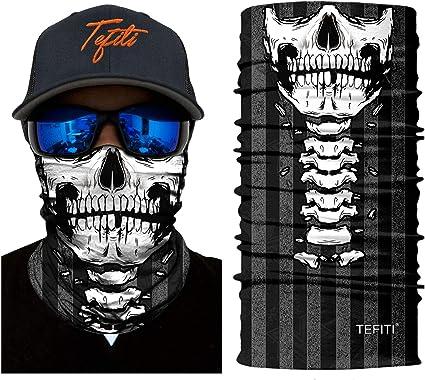 UV Face Mask Headwear Fishing Gator Bandana Scarf Neck Seamless Covering Skull