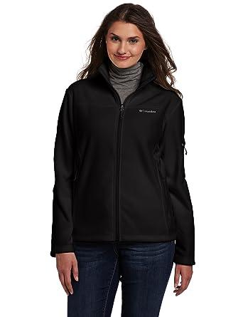 510a26f6 Columbia Women's Plus-Size Fast Trek II Full Zip Fleece Jacket Plus, Black,