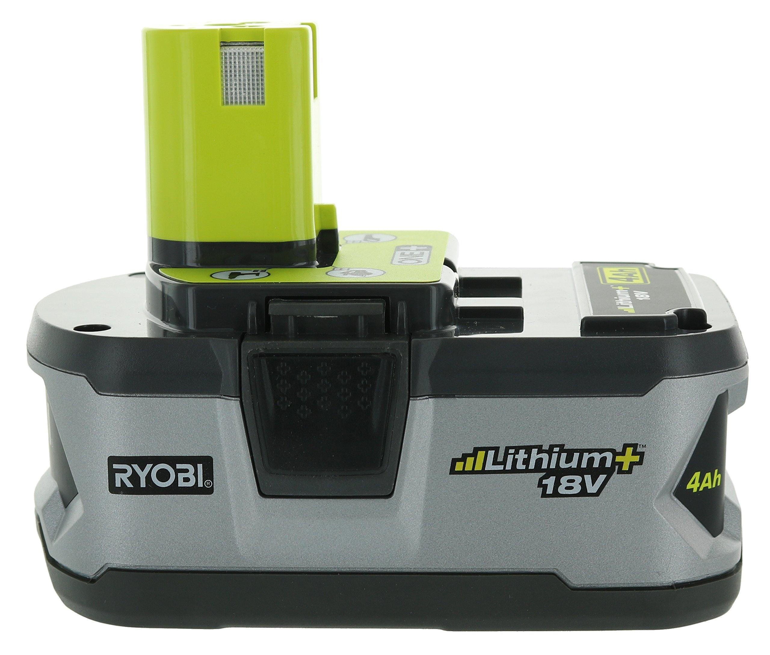 Ryobi P122 4AH One+ High Capacity Lithium Ion Batteries For Ryobi Power Tools (2 Pack of P108 Batteries) by Ryobi (Image #4)