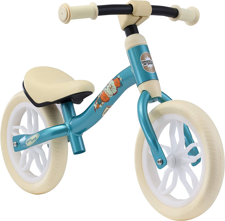 BIKESTAR 2-en-1 Bicicleta sin Pedales (Muy Ligero! 3KG!) para niños y niñas 2-3 años | Bici con Ruedas de 10