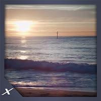 Sunset Shore Waves