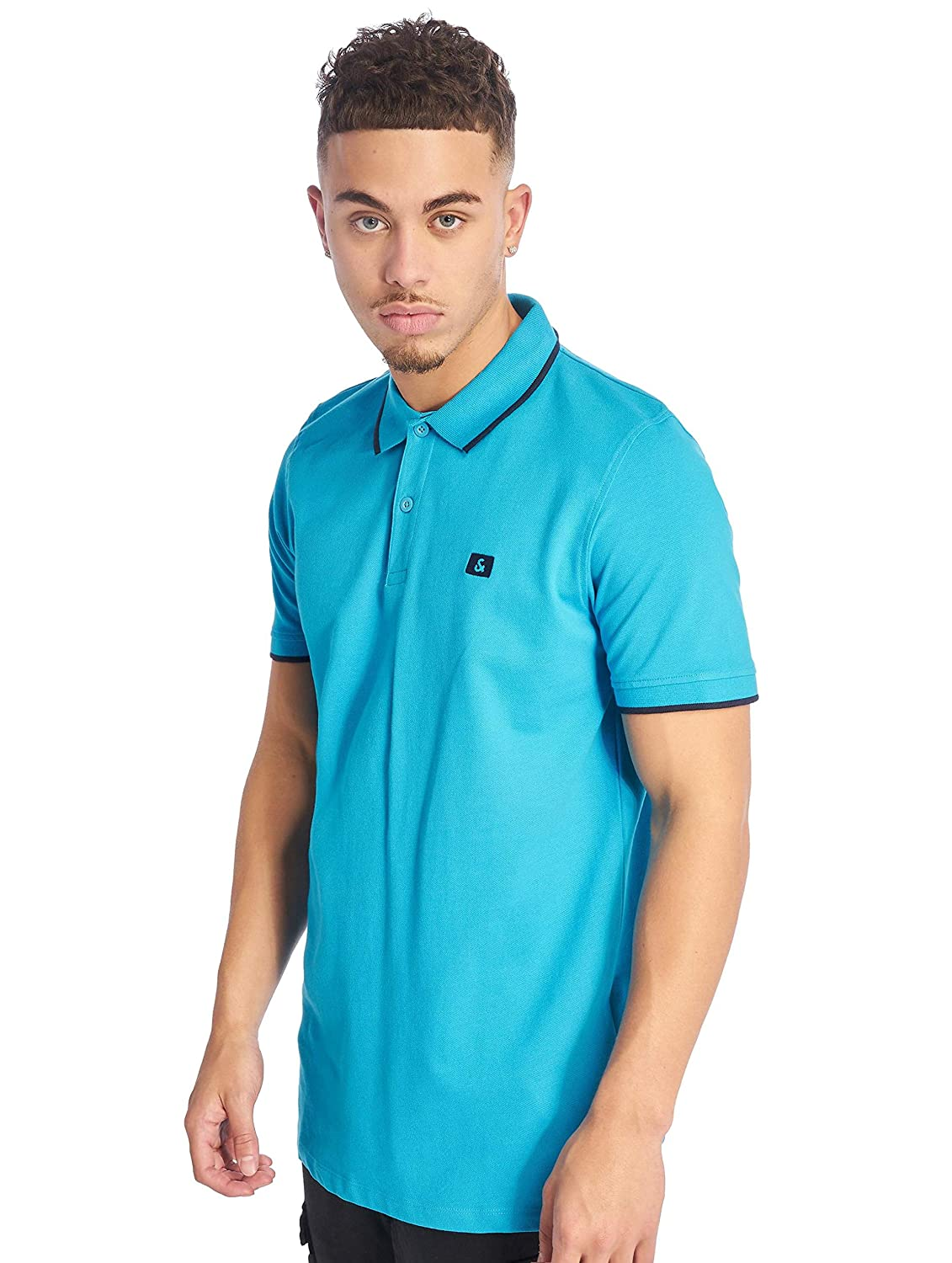 Polo Jack and Jones JJESTONE Azul del Hombre: Amazon.es: Ropa y ...