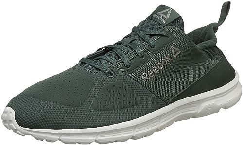 f5e9fa24d Reebok Men s Aim Mt Green Chalk Pewter Running Shoes-6.5 UK India ...