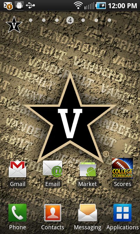 Amazon.com: Vanderbilt Commodores Revolving Wallpaper
