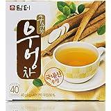DAMTUH Korean Traditional 100% Pure Natural Healing Premium Burdock Root Tea, 40 Bags (Burdock Tea)