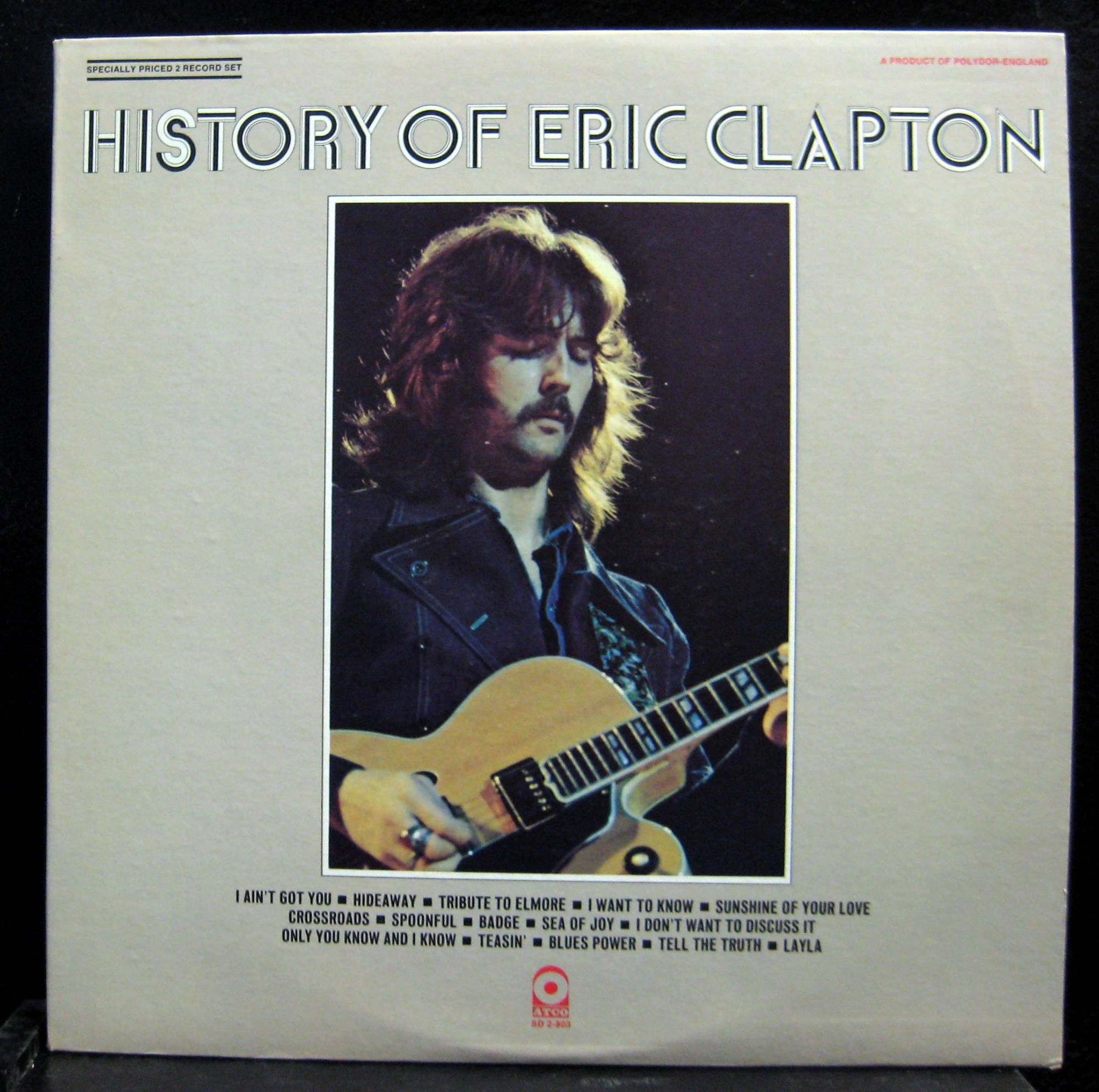 History of Eric Clapton by Atco