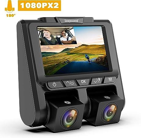 Toguard Dashcam Full Hd Dual 1080p Car Camera Video Elektronik