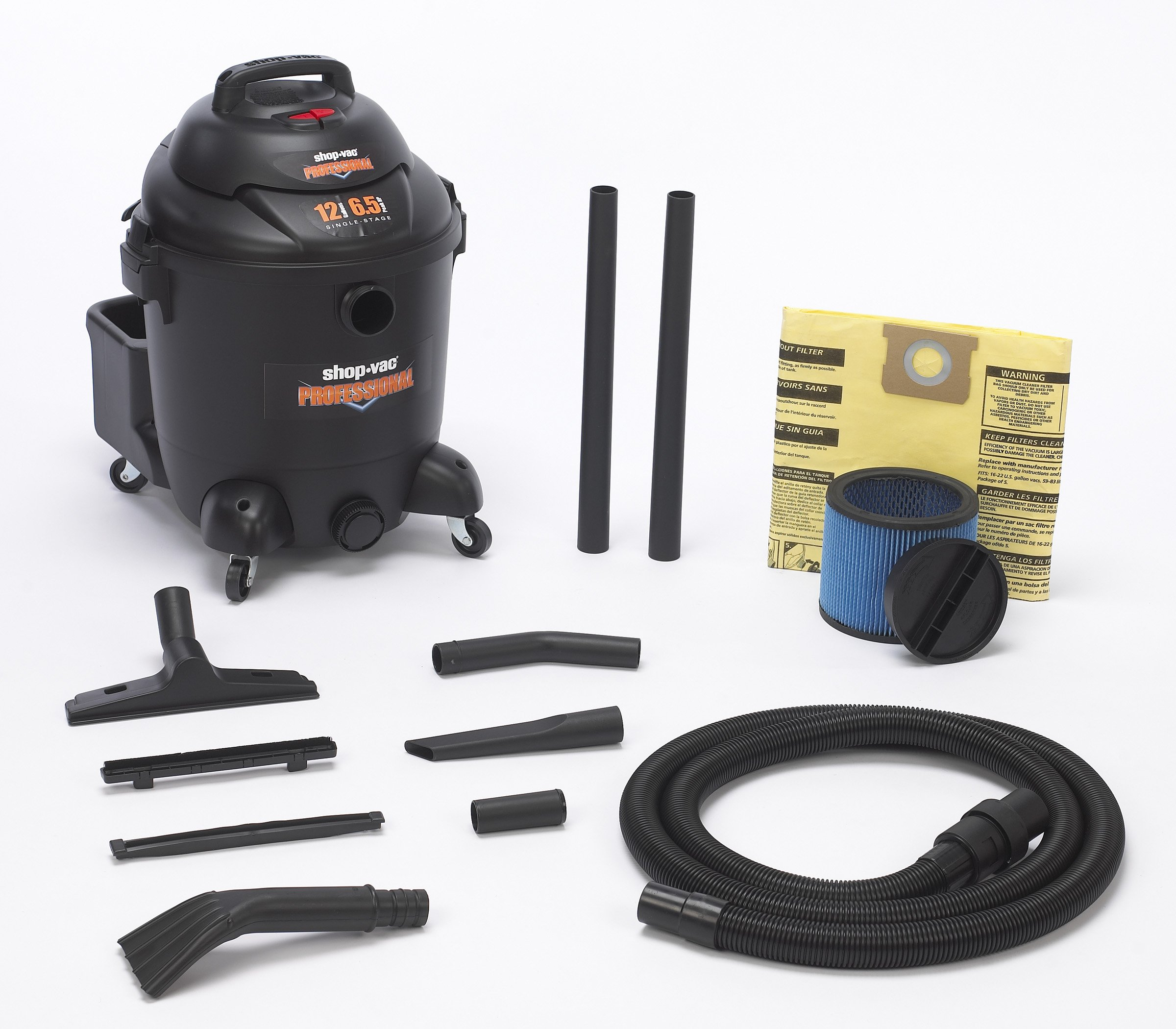 Shop-Vac 9621210 Professional Commercial Duty Vacuum - 12 Gallon Capacity by Shop-Vac (Image #2)