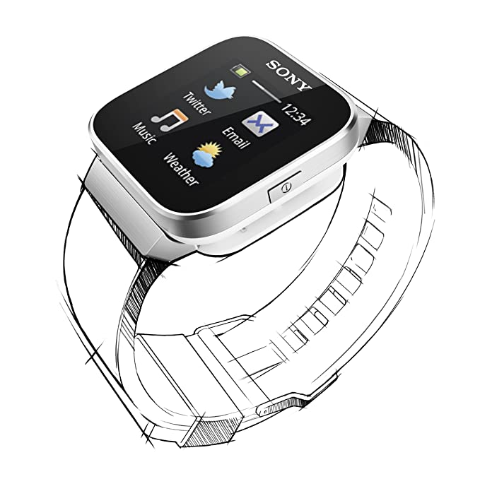 Sony SmartWatch - Smartwatch Android (pantalla 1.3