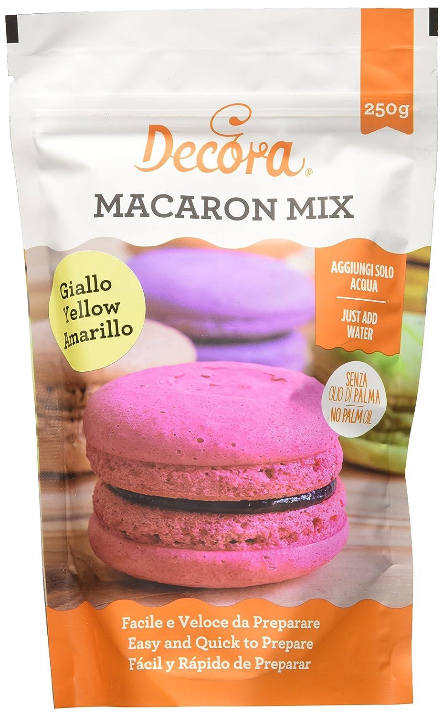 Decora Preparato Macaron in Polvere, Giallo - 250 g 0300422