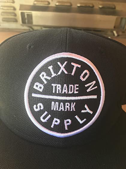 Brixton Men's Oath Iii Medium Profile Adjustable Snapback Hat Don't buy, received smashed up in a bag