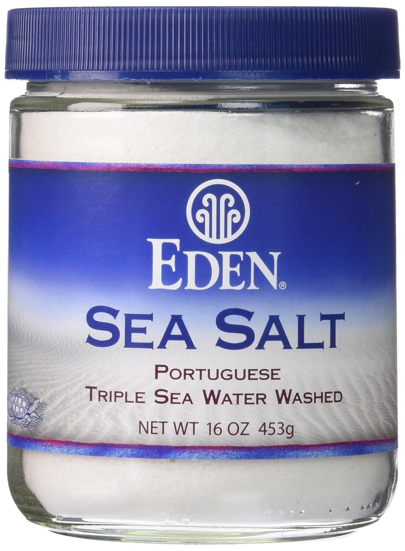 Eden Foods Sea Salt, Portuguese, 16-Ounce