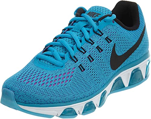 Nike Women s Air Max Tailwind 8 Blue Lagoon Black Vivid Purple Ankle-High Mesh Running Shoe – 8M