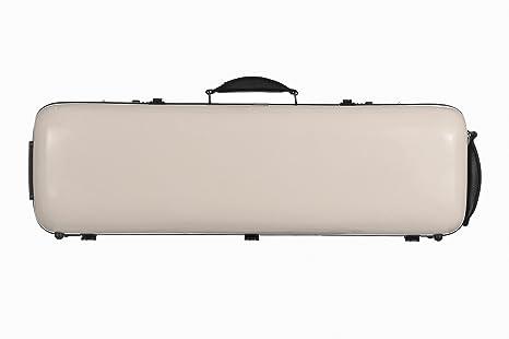 Estuche para violín fibra Safe Oblong 4/4 Perla M-Case: Amazon.es: Instrumentos musicales