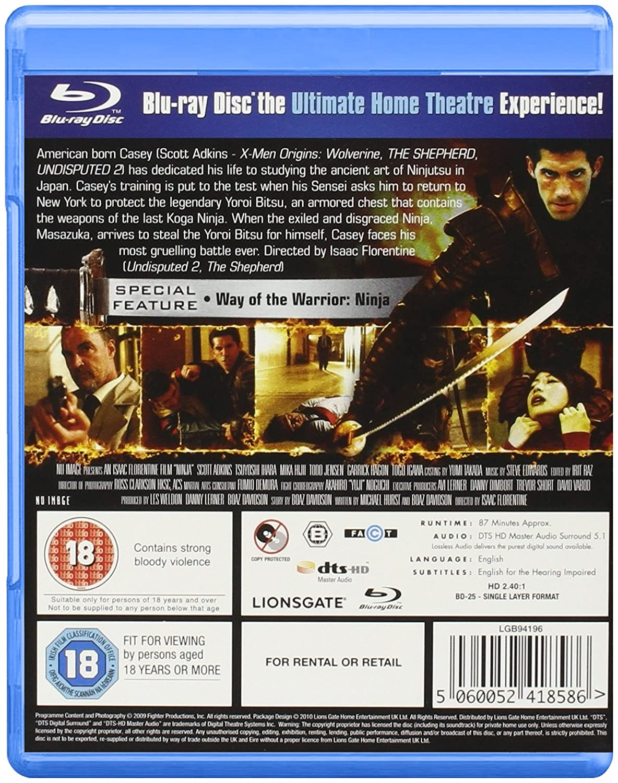 Amazon.com: Ninja [Blu-ray]: Movies & TV