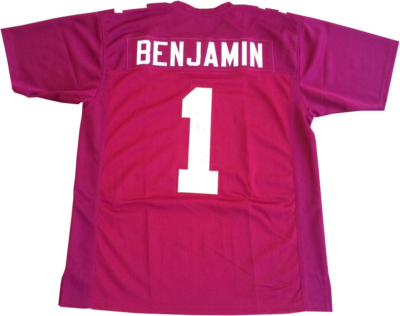 Kelvin Benjamin Signed Florida State Seminoles Maroon Jersey Proof ...