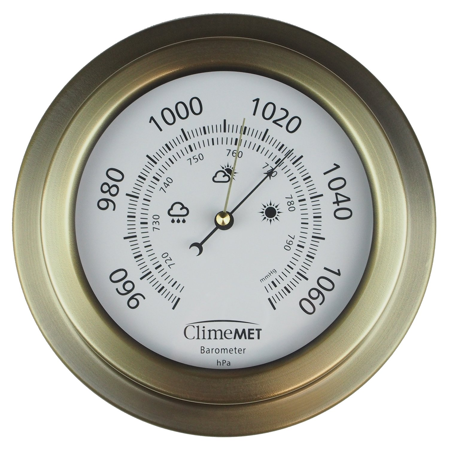 How to use the indoor barometer 75
