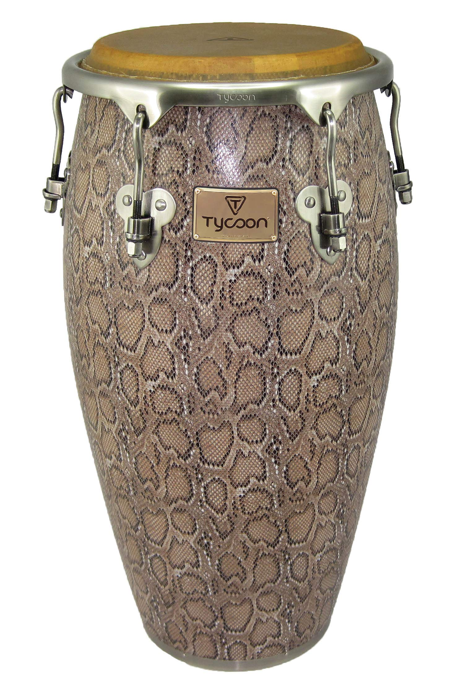 Tycoon Percussion MTCF-120BCF5 11-3/4 Inch Master Series Conga with Single Stand, Boa Finish