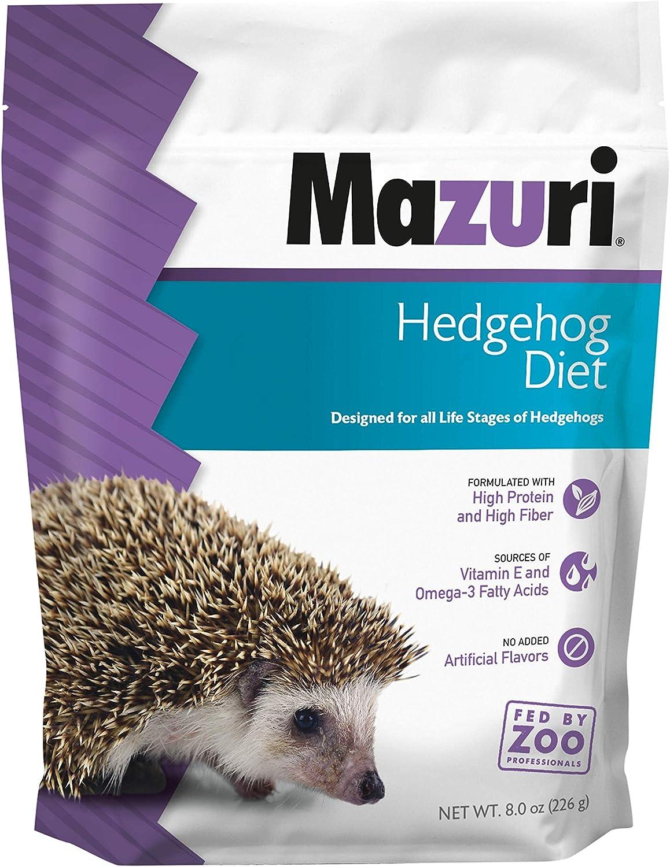 Mazuri | Nutritionally Complete Hedgehog Food | 8 Ounce (8 oz) Bag
