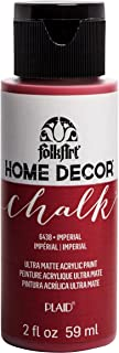 product image for FolkArt Home Décor Chalk Furniture & Craft Paint in Assorted Colors, 2 oz, Imperial