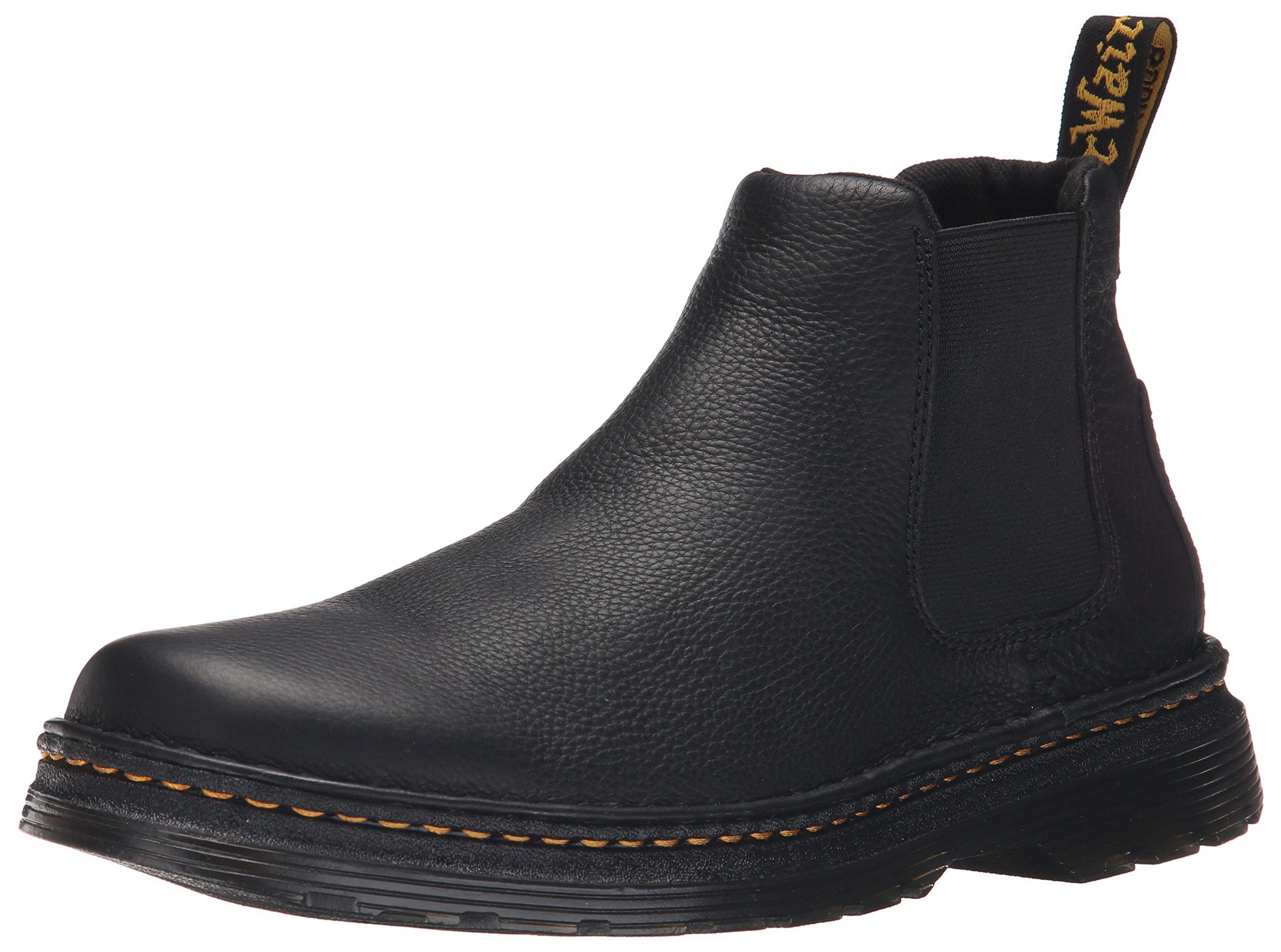Dr. Martens Men's Oakford Chelsea Boot Black 8 UK/9 M US
