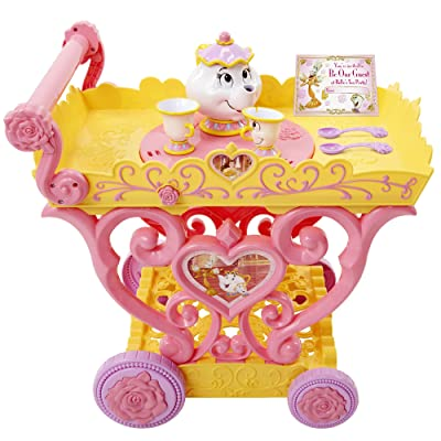 Disney Princess Belle Musical Tea Party Cart: Toys & Games