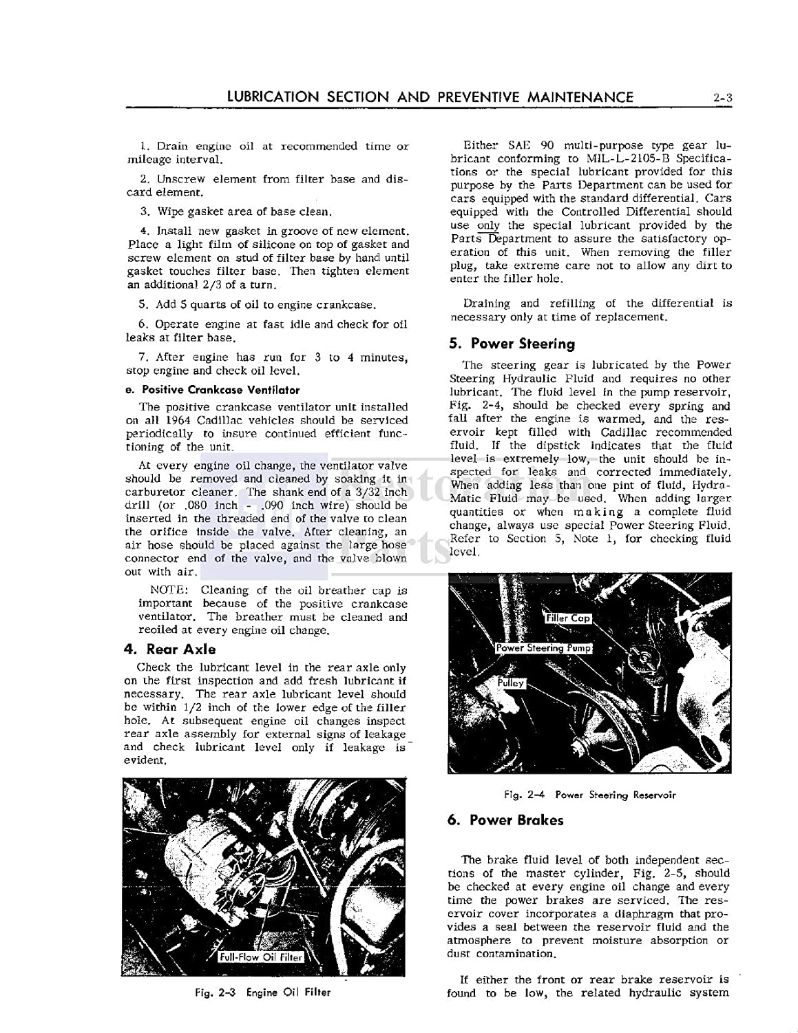 1964 Cadillac Shop Service Repair Manual Book Engine Wiring Diagram For 60 And 62 Series Part 1 Electrical Drivetrain Automotive