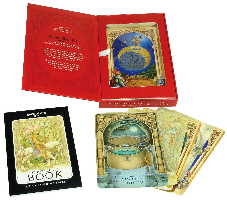 The Storyworld Box: Create-A-Story Kit by Templar