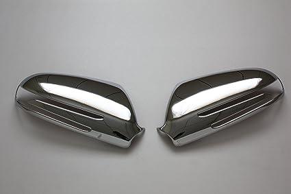 04-09 Mercedes BENZ SLK-Class R171 Chrome Mirror Cover /& Door Mirror Covers Trim