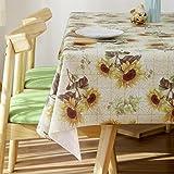 Diliba Vinyl Oilcloth Tablecloth for Rectangle