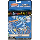 Melissa & Doug 9141 On The Go Scratch Art Color-Reveal Pad - Vehicles