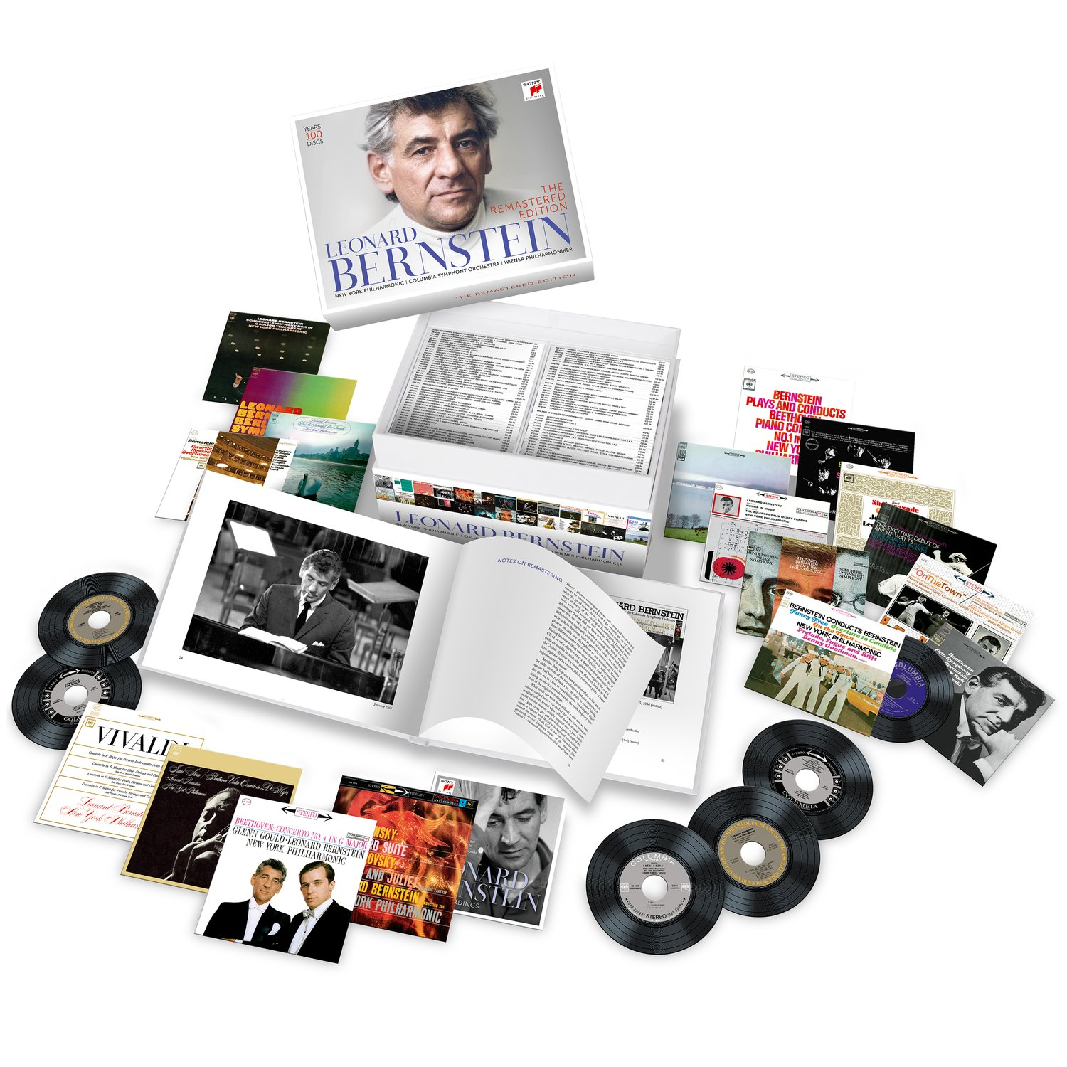 Leonard Bernstein Remastered by Sony Classical