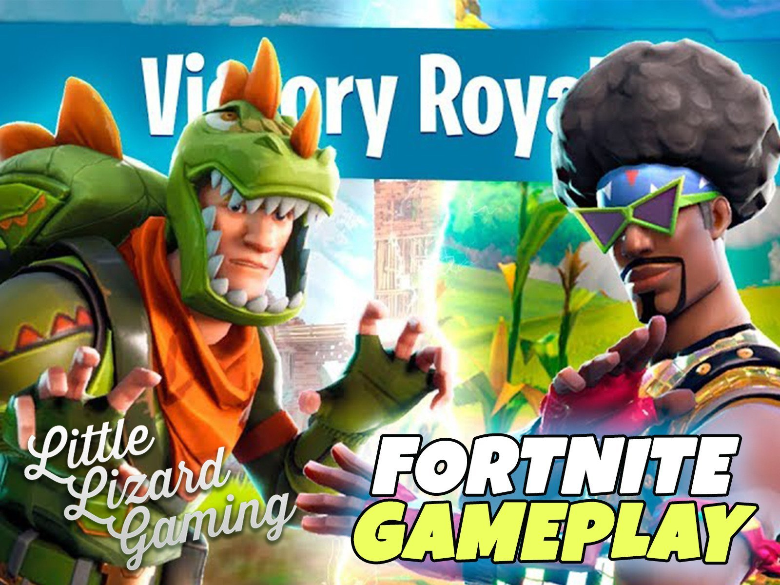 Amazon.com: Watch Clip: Little Lizard Gaming - Fortnite ...