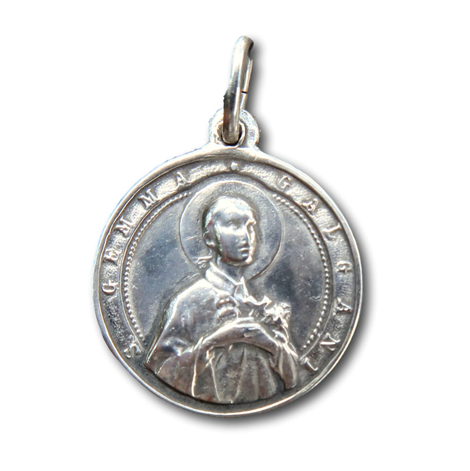 St Gemma Galgani Medal Patron of pharmacists Antique Reproduction