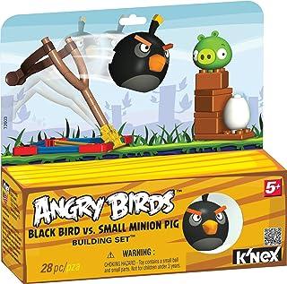 K'Nex KN72603 - Edificio Impostare Angry Birds, Black Pig Uccello Minion vs Piccolo