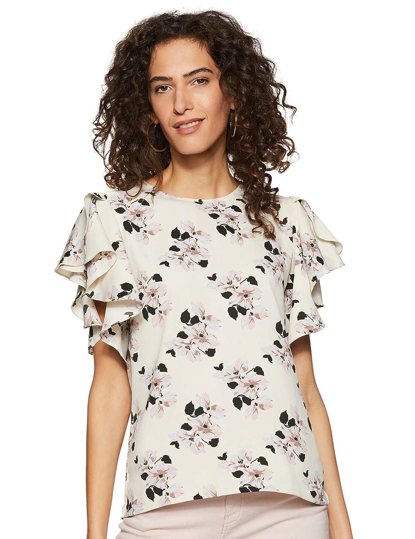 Miss Olive Women's Floral Regular fit Top