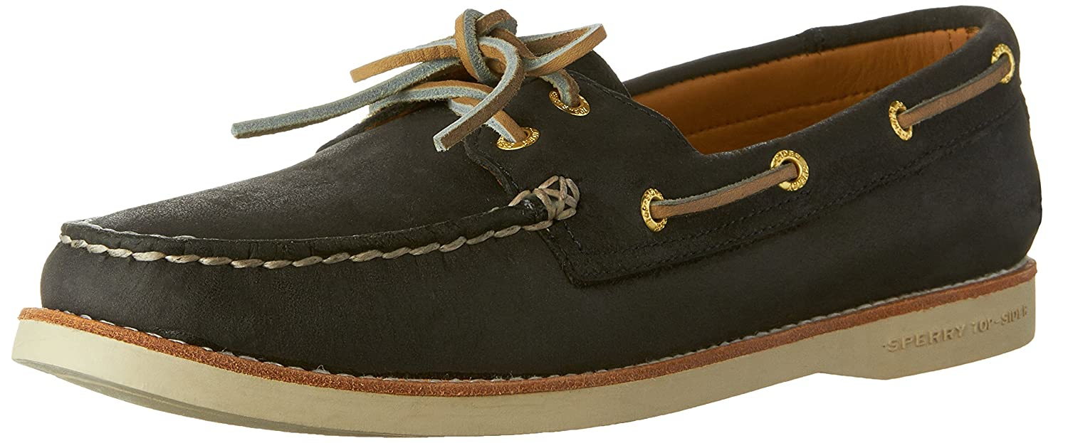 Navy Sperry Women's gold Cup A O Boat shoes