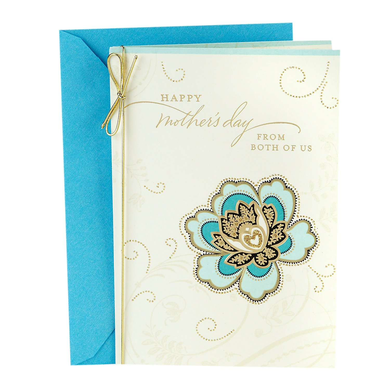 Hallmark Mothers Day Greeting Card From Both Wishing You A Lovely