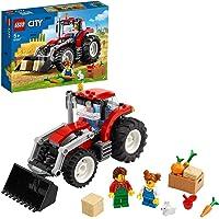 LEGO 60287 City Voertuigen Tractor, Boerderijset met Konijnfiguur Cadeau-idee voor Jongens en Meisjes van 5 jaar