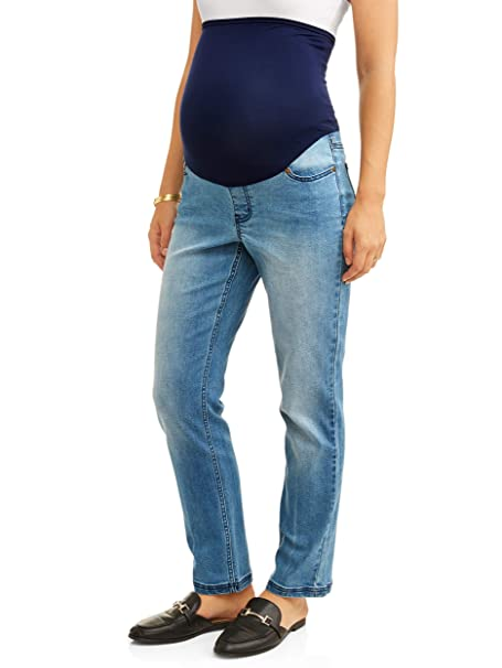 4bf49d9cfa14b Liz Lange Maternity Over The Belly Bootcut Jean at Amazon Women's ...
