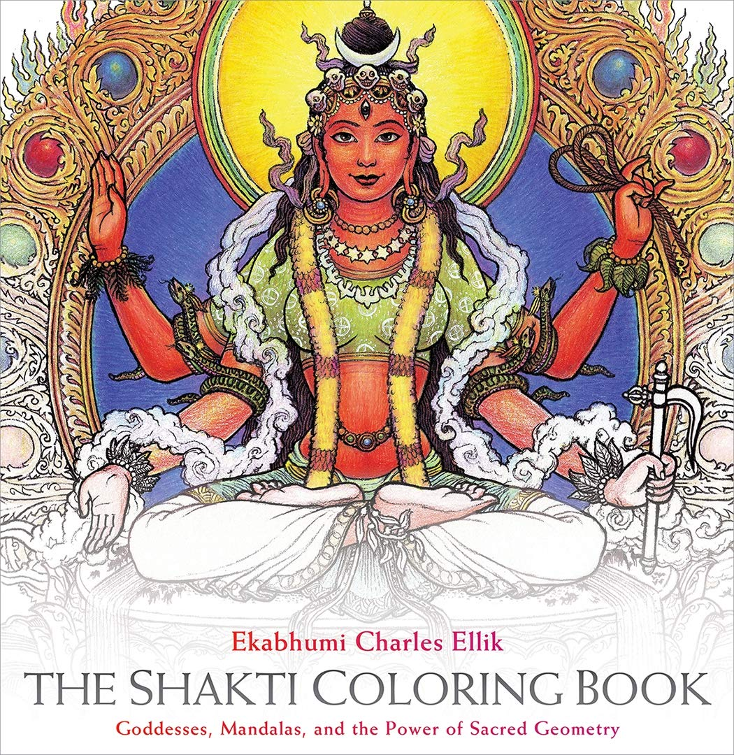 The Shakti Coloring Book: Goddesses, Mandalas, and the Power ...