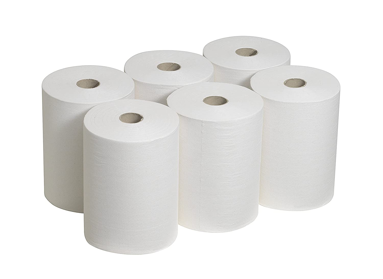 Scott 6657 Slimroll Essuie Mains 1 Pil 165 m Blanc Pack de 6