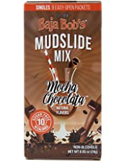 Baja Bob's Sugar Free Mudslide Mix Singles - 8 Single-Serve Cocktail Mix Packets