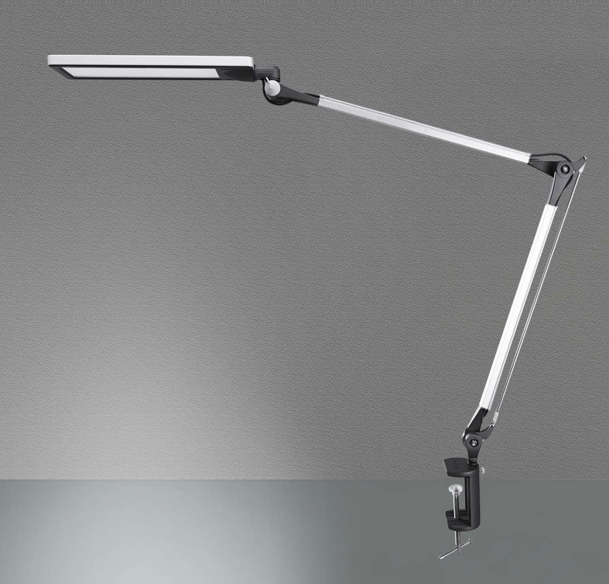Metal Architect Swing Arm LED Desk Lamp - Top Metal Table Lamp for Working and Studying