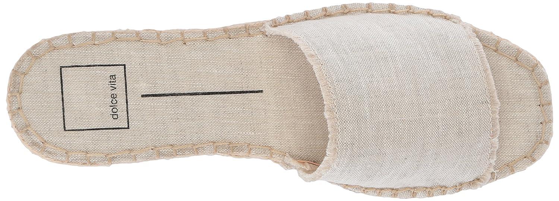 Dolce Vita 7.5 Women's Bobbi Slide Sandal B077QJ3CWN 7.5 Vita B(M) US|Sand Linen 30e02a