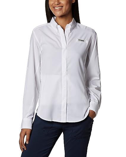 fe51a01dc06 Columbia Women s PFG Tamiami™ II Long Sleeve Fishing Shirt  Amazon ...