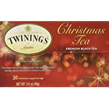 Twinings Black Tea, Christmas, 1.41 Ounce, 20 Count