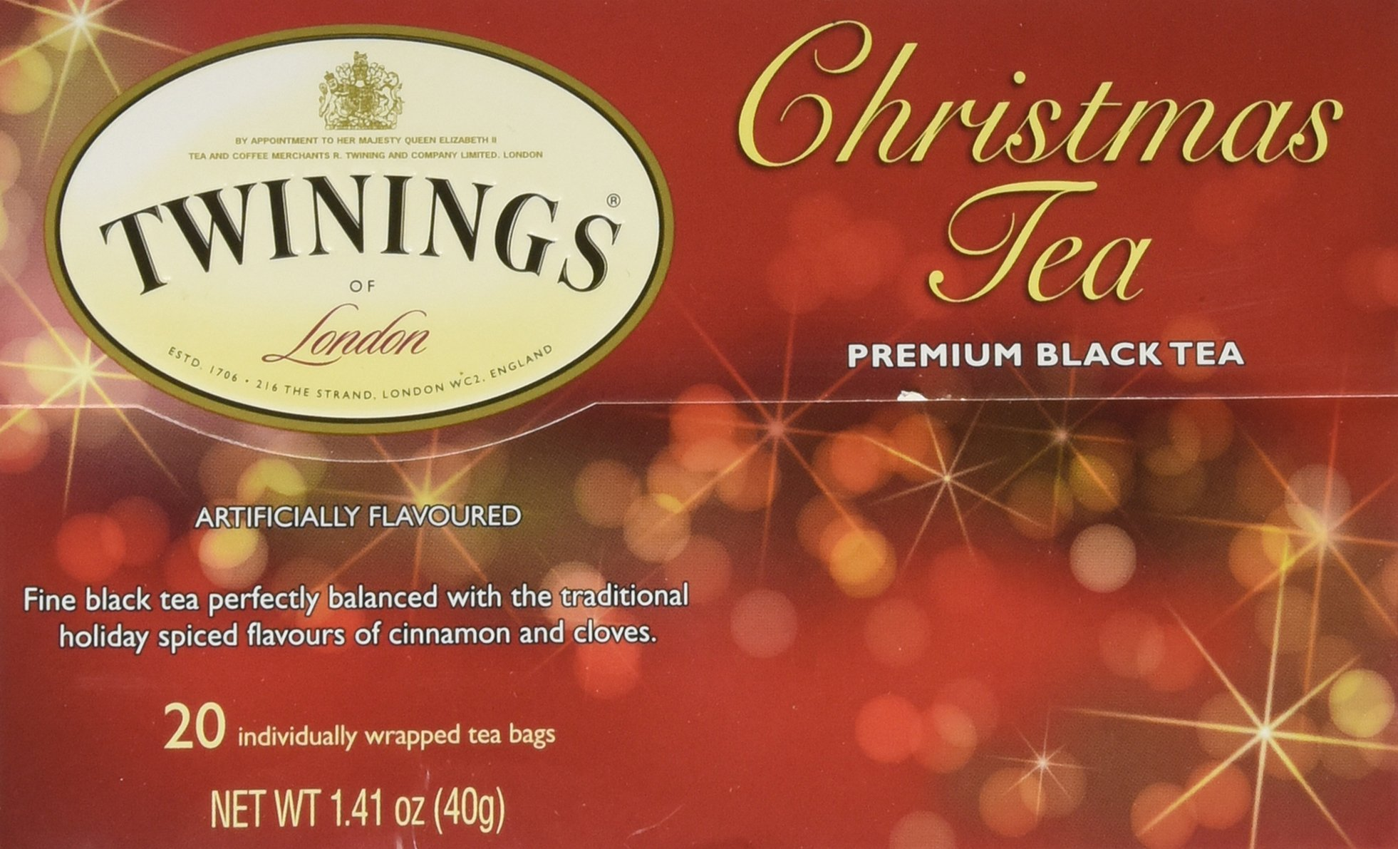 Twinings Christmas Tea Bags