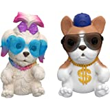 Little Live Pets, OMG Pets Have Talent - 2 Pack of Hilarious Singing Puppies That React to Being Squeezed with Multiple…