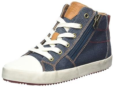 48b0ad520975 Geox J Alonisso C Baskets Hautes garçon  Amazon.fr  Chaussures et Sacs
